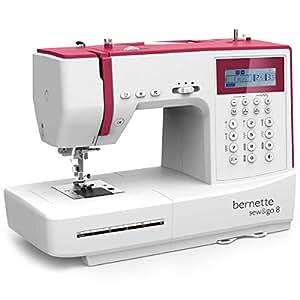 Bernette sew go 8 machine coudre lectronique 197 for Machine a coudre zenith 513