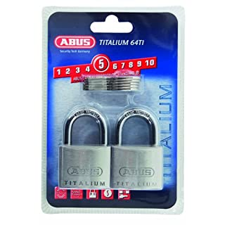 ABUS 64TI/40 40mm Titalium Padlock (Pack of 4)