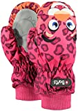 Barts Unisex Baby Handschuhe Nylon Mitts, Orange (0011/Leopard Arancione 011d), One Size
