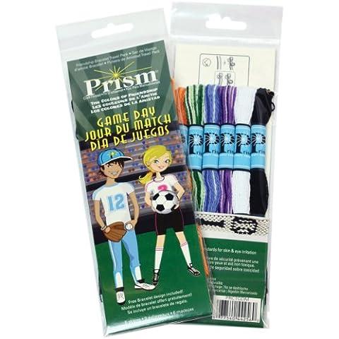 Prism Six-Strand Floss Mini Packs 6/Pkg-Game Day