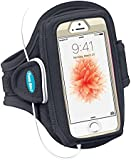Tunebelt AB84 Black Sport Armband for iPhone 4 Otterbox Defender Series Case + other Otterbox Cases