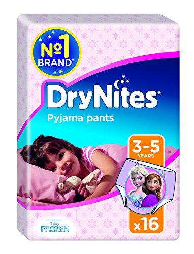 Drynites - Braguitas absorbentes, 3-5, niña, 16 unidades Drynites