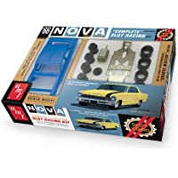 Lindberg SCAMT745 - 1/25 Kit 1966 Chevy Nova Slot Race