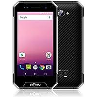 NOMU S30 Mini - 4G Outdoor Smartphone Ohne Vertrag IP68 Android 7.0 4,7 Zoll LTPS HD MTK6737T Quad Core 1.5GHz 2*SIM+1*TF 3GB RAM+32GB ROM 8.0 MP Kamera Wasserdichte/Stoßfest/Staubdicht (Silber)