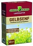 Greenfield 63715 Gelbsenf 500 g für ca. 100 qm - Gründünger Gründüngungsplfanze