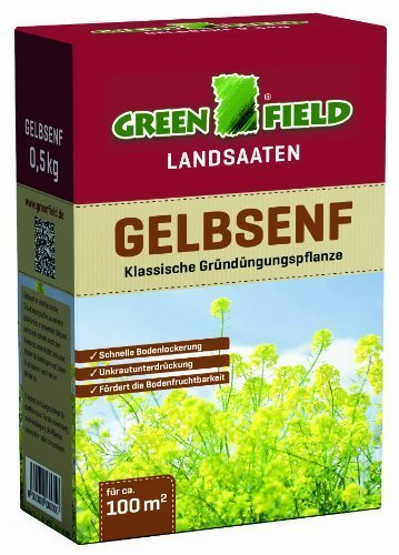 Greenfield 63715 Cultures dérobées 500 g pour env. 100 qm - gründünger gründüngungsplfanze