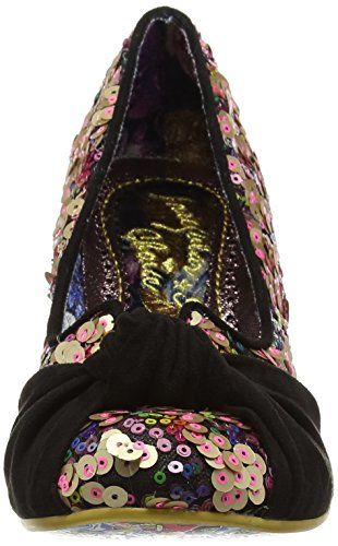 Irregular Choice Dazzle Pants, Escarpins femme Black (Black Multi)