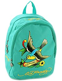 Ed Hardy Misha Spring Sparrow Backpack- Turquoise-One Size b67a0c3d52382