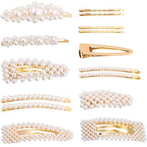 15 Stücke Haar Pins Künstliche Perle Haarspangen Haarspangen für Damen und Mädchen Hochzeit Party Lieferungen