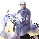 Regenmantel Elektrisches Auto / Motorrad / Fahrrad Transparente Mode Regen Getriebe Big Hat Verdickung , 9