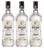 MANGAROCA Batida com Rum 21% vol (3 x 0.7 l) ? klarer Kokoslikör ? Kokosnusswasser & exotischer Rum ? perfekt zum Mixen von L