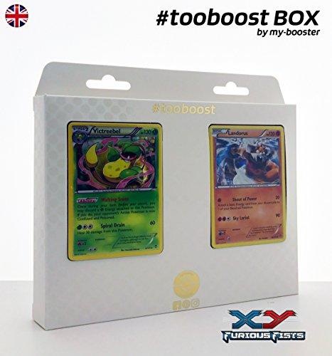 my-booster Box #tooboost Victreebel (Sarzenia) und LANDORUS - XY03 - 10 English Karten Pokemon