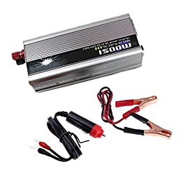 BoomBoost Convertitore caricatore Universal Inverter auto portatile 1500W DC 24V AC 220V USB
