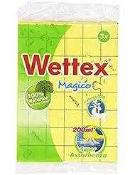 Wettex Panno Multiuso, Super Assorbenza - 3 Pezzi