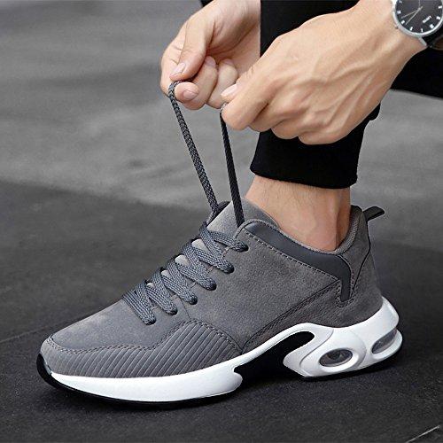 Feifei Zapatos De Hombre Movimiento De Primavera Y Otoño Zapatos Ocasionales 3 Colores (color: 01, Dimensiones: Eu39 / Uk6 / Cn39) 02
