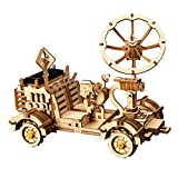 ROKR Solar Powered Toy Car-3D Puzzle de Madera Kits de Modelo -...