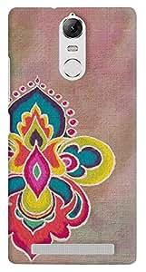 Kasemantra Rangoli On Canvas Case For Lenovo K5 Note