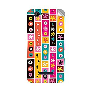 Garmor Designer Mobile Skin Sticker For Panasonic P41 - Mobile Sticker