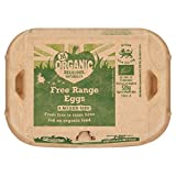 Morrisons Organic Eggs, 6 Mixed Size Eggs