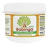 Babinga Tabs - leckere Superfood-Presslinge, mit Bacillus Subtilis DSM 21097, 100% Vegane Qualität ohne Trennmitel, ohne Füllstoffe, ohne Kleber. (180 Presslinge)