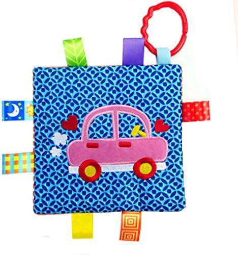 VWH VWH VWH Voiture Bébé Taggy Couverture petite couverture de sécurité Peluche Baby Taggy Blankets pour bébés garçons filles | Terrific Value  d33945