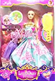 TOYMART DOLL SET LIKE BARBIE WITH DRESSE...