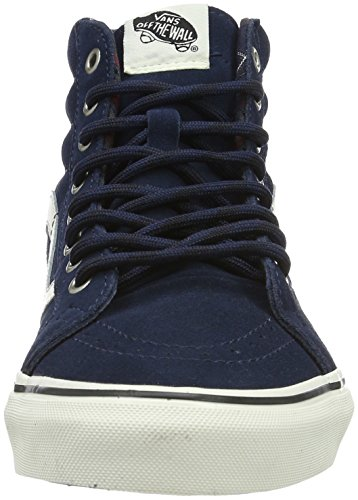 Vans Sk8-Hi Reissue, Sneakers Hautes Mixte Adulte Bleu (mlx)