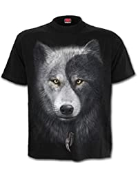 Spiral Men - Wolf Chi - T-Shirt Black