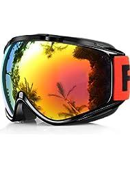 670cf972a38 Amazon.es  gafas snowboard - Gafas   Esquí  Deportes y aire libre