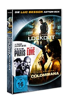 Lockout / Colombiana / From Paris with Love [3 DVDs]