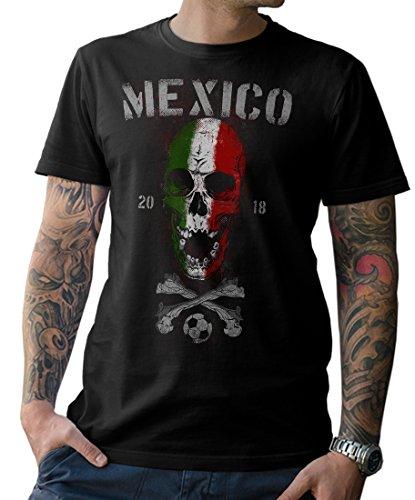 NG articlezz Camiseta De Los Hombres Mexico Calavera