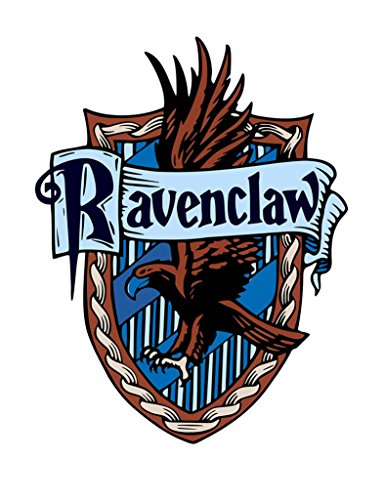 TENNER LONDON Ravenclaw Plancha Serigrafía Tela Applique