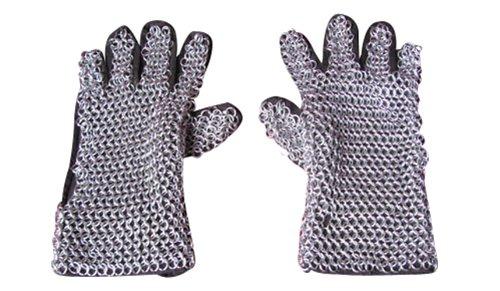 Preisvergleich Produktbild Paar Kettenhandschuhe für Mittelalter Rüstung