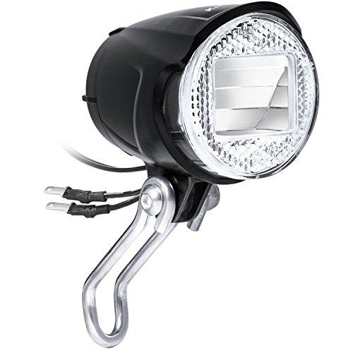 KINGTOP [Bijgewerkte versie] Fietsverlichting LED Fietsverlichting Fietslamp 40 Lux LED-goedkeuring