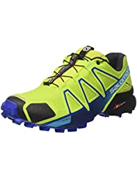 Salomon Herren Speedcross 4 Traillaufschuhe, Blau