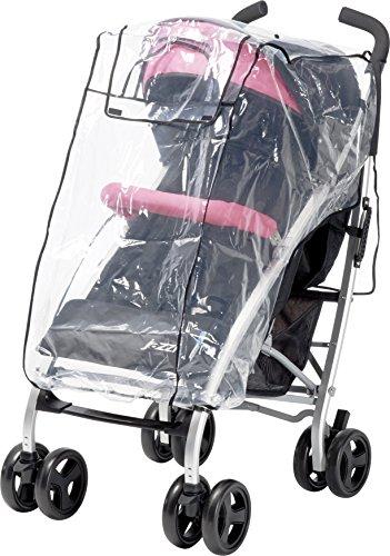 Playshoes 448960universal cubierta impermeable, protección contra la lluvia, de lluvia para el deporte de Buggy, Jogger, carro con ventana de contacto