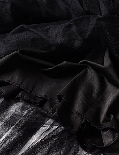 NEARKIN Damen Rock, gemustert NKNKWLSK62-BLACK