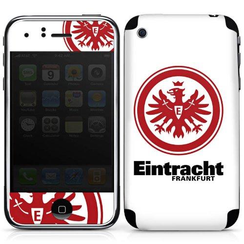 DeinDesign Apple iPhone 3Gs Folie Skin Sticker aus Vinyl-Folie Aufkleber Eintracht Frankfurt Fanartikel Football