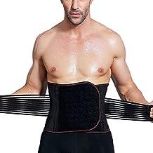 Faja Lumbar Faja Reductora Adelgazante Faja Lumbar de Trabajo Faja Abdominal Mens Women Waist Trimmer Belt for Sports Fitness Gym Workout