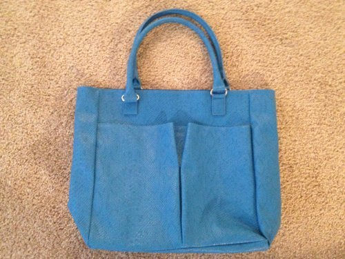 neiman-marcus-faux-snake-python-crocodile-large-tote-blue-by-neiman-marcus