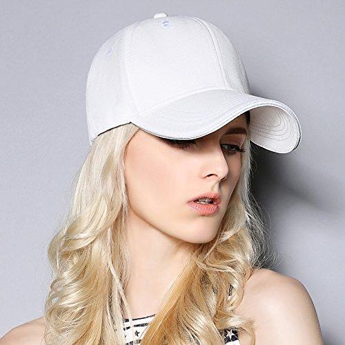 FQG*L'automne hiver coffre à l'image de baseball cap western solid black white hat , bleu foncé Rouge pastèque
