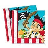 & Jake und die Nimmerland-Piraten Party-Servietten, 20 Stück