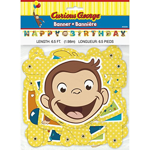 Curious George Party Banner (Curious Party George)