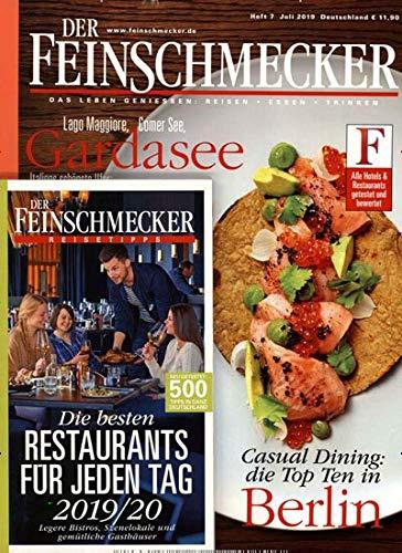 """Der Feinschmecker 7/2019 """"Die Besten Restaurants"""""""