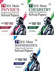 71 JEE Main ONLINE & OFFLINE Physics, Chemistry & Mathematics Topic-wise Solved Papers 7th