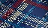 Mini Genuine All Weather Floor Mat Speedwell Blue Design Rear F56 51472354166