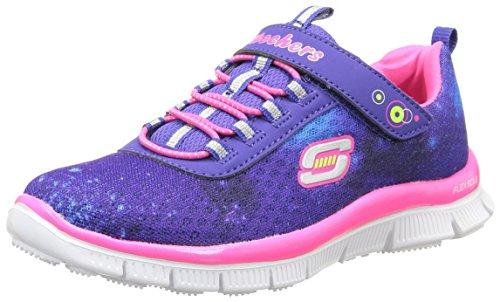 Skechers - Appeal Kosmic Kid, Sneakers per bambine e ragazze Blu (bleu/rose)