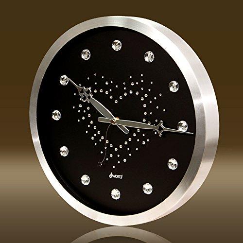 Mmynl.c creative non scorre silenziosa matt moderno orologio a parete fai da te per soggiorno camere cucine di office