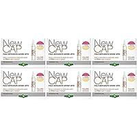 Erba Vita – newcap 15 ampollas Anticaída Acción Urto 6 paquetes – contra la caída de