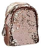 Depesche 10112 - Rucksack mit Streichpailletten TOPModel gold